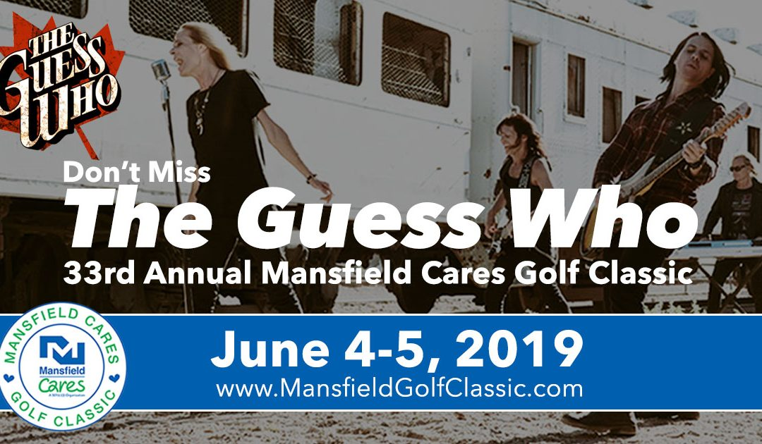 The Guess Who Performs at Mansfield Cares Golf Classic