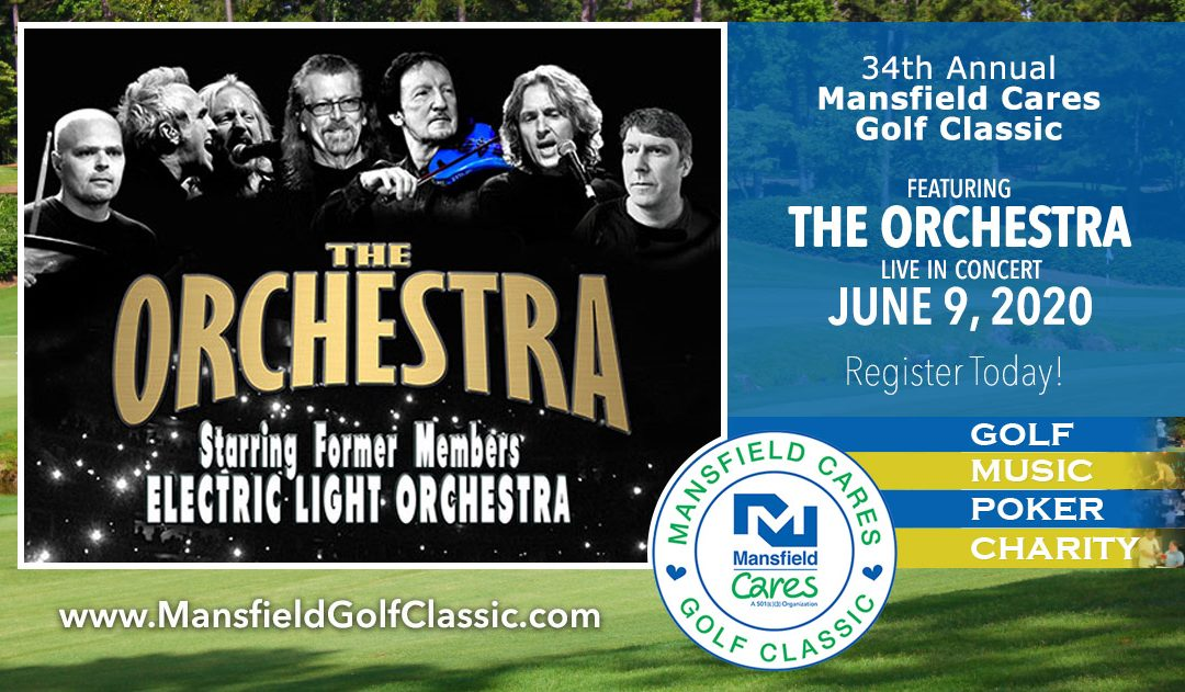 Symphonic Rock Band THE ORCHESTRA Headlines Golf Classic Concert